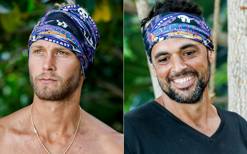 Survivor Ghost Island, Chris vs. Domenick