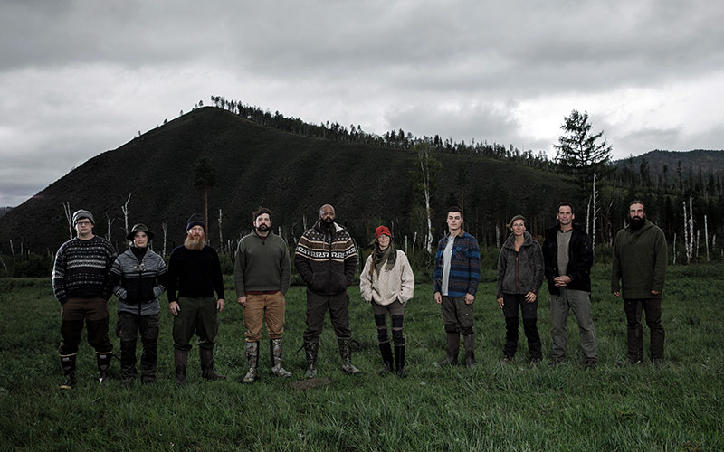 Alone season five cast
