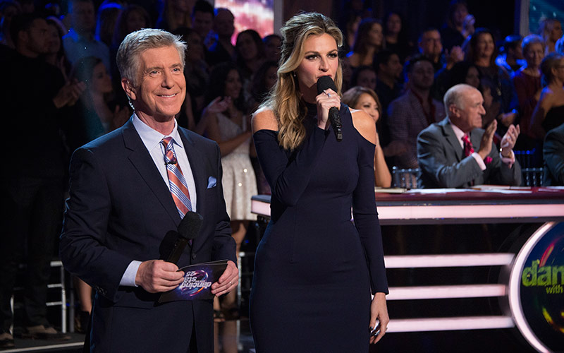 Dancing with the Stars season 25, Tom Bergeron, Erin Andrews