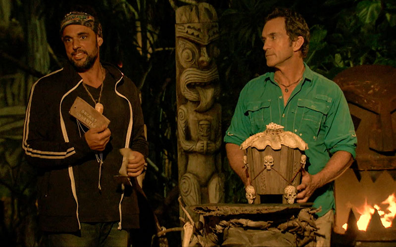 Domenick Abbate, Jeff Probst, Survivor Ghost Island