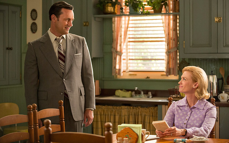 Don Draper, Betty Francis, Mad Men season 7