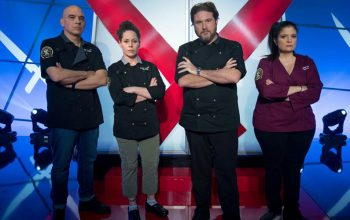 Iron Chef Gauntlet season two finale, Michael Symon, Stephanie Izard, David LeFevre, Alex Guarnaschelli