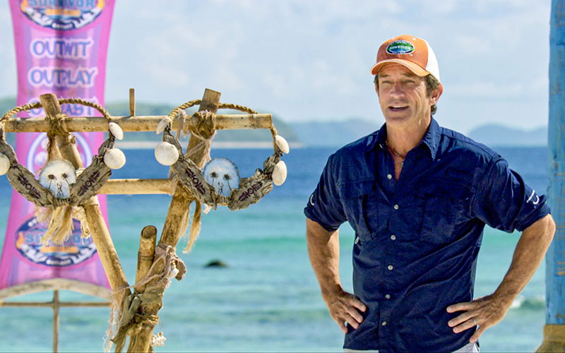 Jeff Probst, Survivor Ghost Island, two individual immunity necklaces~