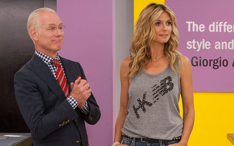 Tim Gunn, Heidi Klum, Project Runway season 12