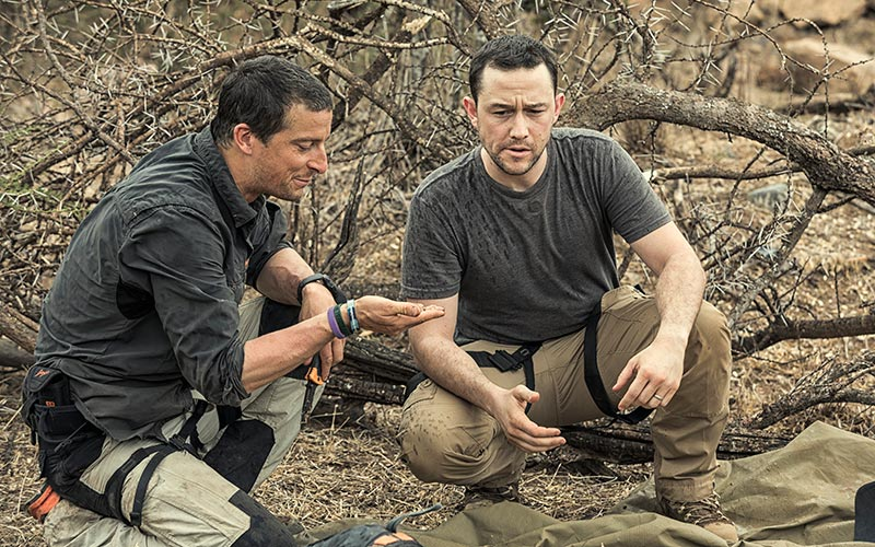 Running Wild with Bear Grylls, Joseph Gordon-Levitt