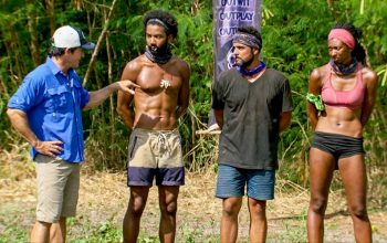 Survivor Ghost Island, Jeff Probst, Wendell Holland, Domenick Abbate, Laurel Johnson