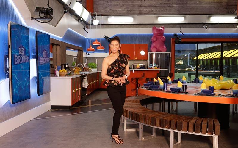 Julie Chen, BB20 house, kitchen