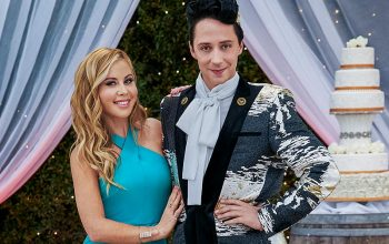 Tara Lipinski, Johnny Weir, Wedding Cake Championship, Food Network