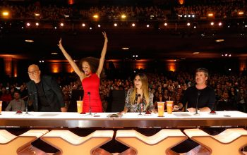 America's Got Talent, judges, Howie Mandel, Mel B, Heidi Klum, Simon Cowell