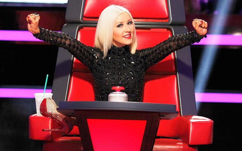 Christina Aguilera, The Voice, NBC