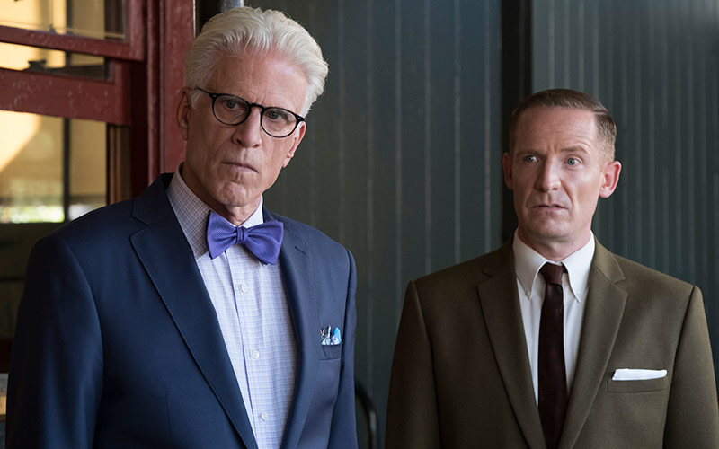 The Good Place, Ted Danson as Michael, Marc Evan Jackson as Shawn