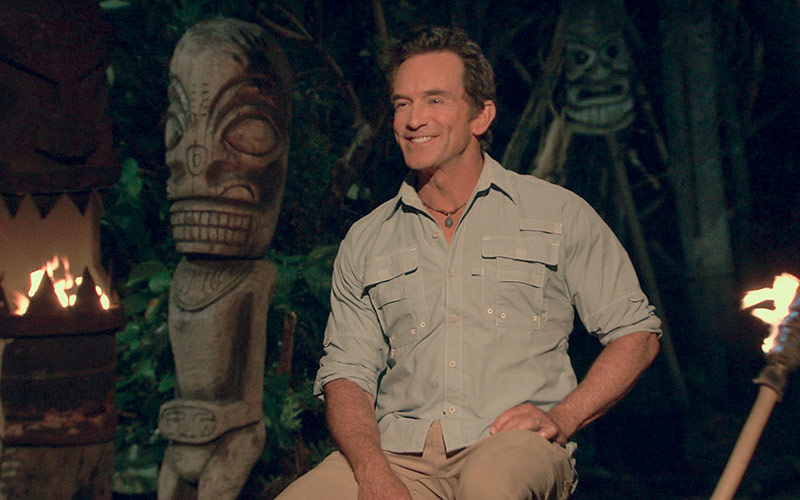 Jeff Probst, Survivor Ghost Island episode 14