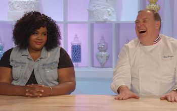 Netflix Nailed It host Nicole Byer, judge Jacques Torres