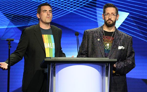 Andy Dehnart, Damian Holbrook, TCA Awards 2018
