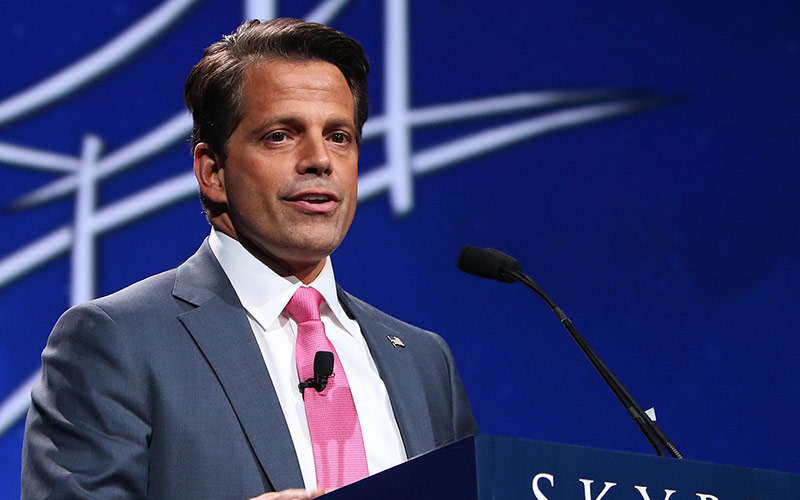 Anthony Scaramucci's TV series The Mooch's Table is not a talk show, and it's not dead