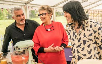 The Great British Baking Show season 8, Netflix, Paul Hollywood, Prue Leith, Noel Fielding