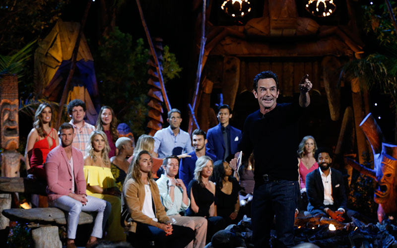 Jeff Probst, Survivor Ghost Island reunion