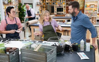 Khiem Nguyen, Amy Poehler, Nick Offerman, Making It episode 102