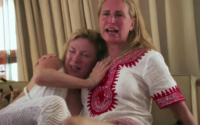 Ramona, Sonja, RHONY, Real Housewives of New York City, boat ride