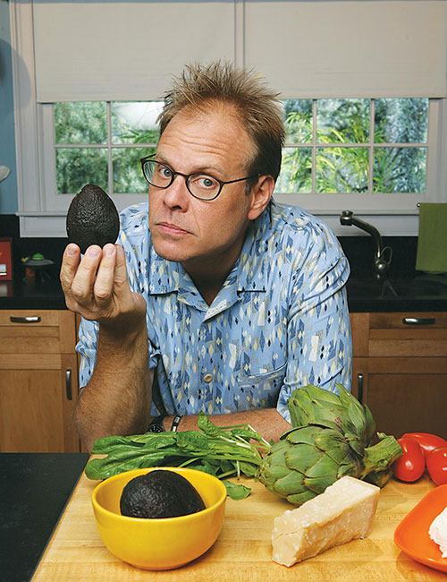 Alton Brown, Good Eats, avocado