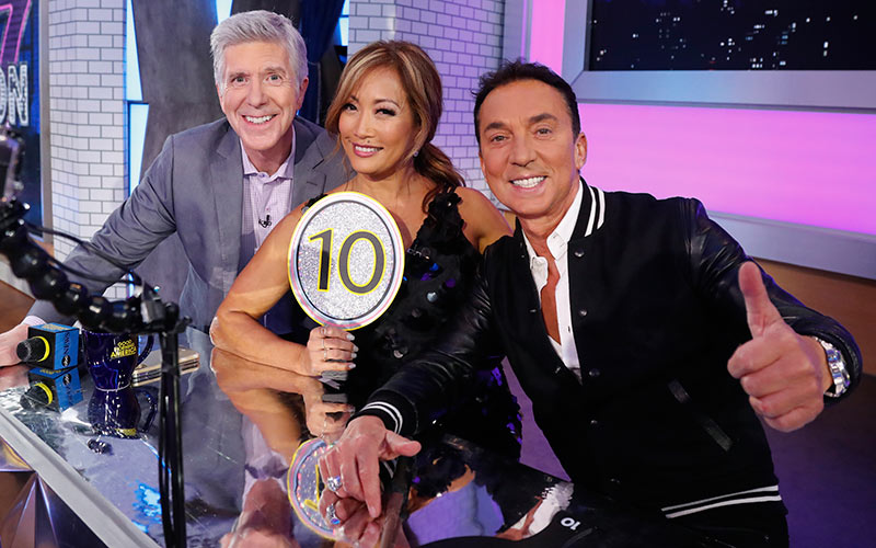 Dancing with the Stars season 27 cast announcement, Tom Bergeron, Carrie Ann Inaba, Bruno Tonioli