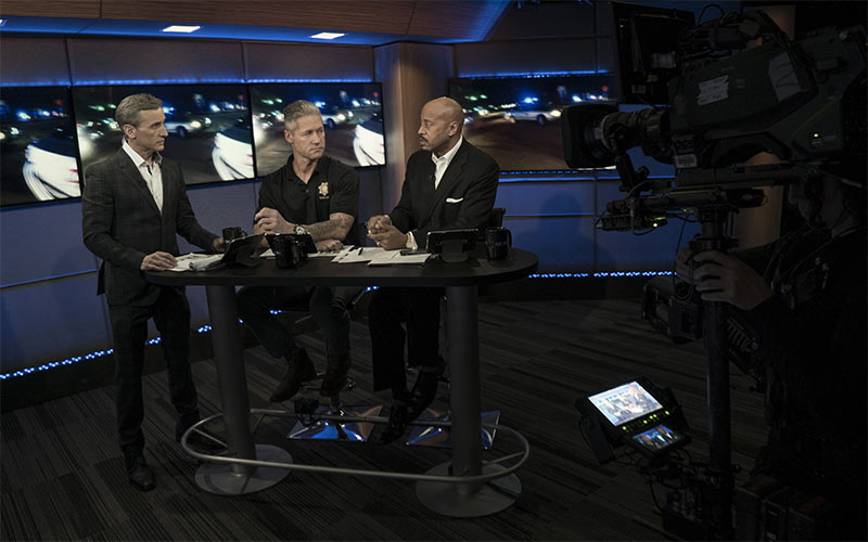 "Live PD, Dan Abrams, Sean ""Sticks"" Larkin, Tom Morris Jr."