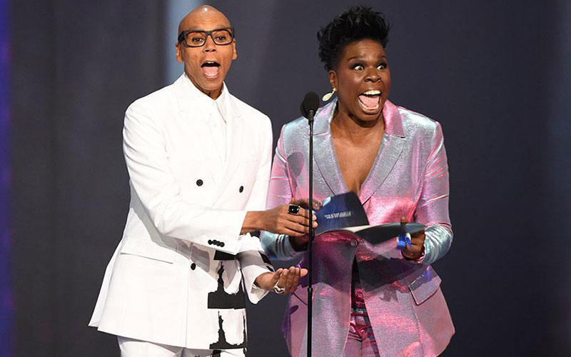 RuPaul Charles, Leslie Jones, Emmys