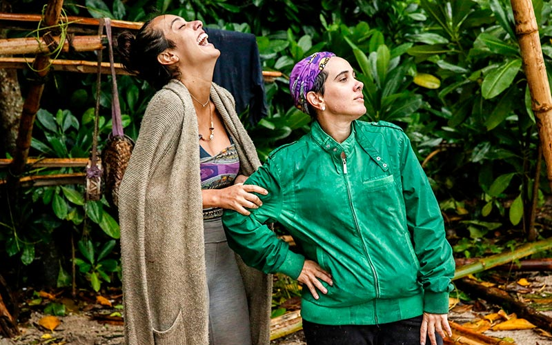 On Survivor, 'jackets and eggs', plus an evacuation and an elimination
