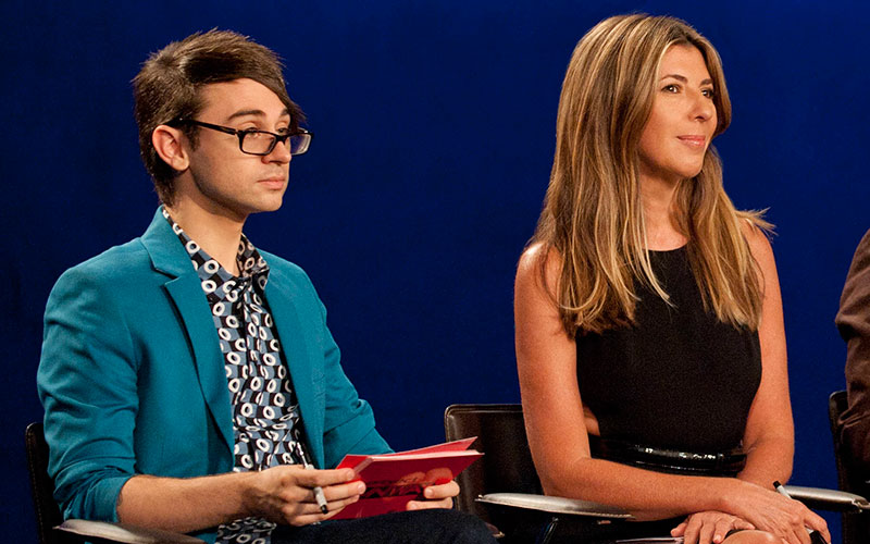 Project Runway Has Its New Mentor Host And Judges And Nina Garcia Is Returning Reality Blurred