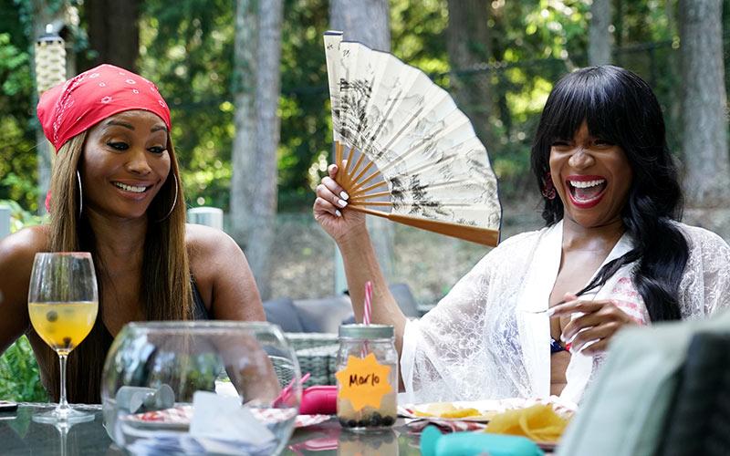 Cynthia Bailey, Marlo Hampton, The Real Housewives of Atlanta, RHOA