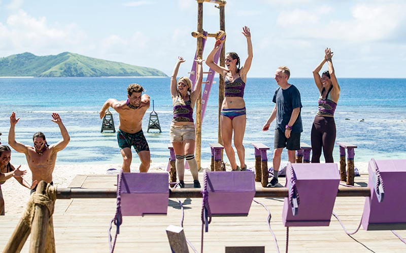 John Hennigan, Alec Merlino, Kara Kay, Alison Raybould, Mike White, Natalia Azoqa, Survivor David vs. Goliath