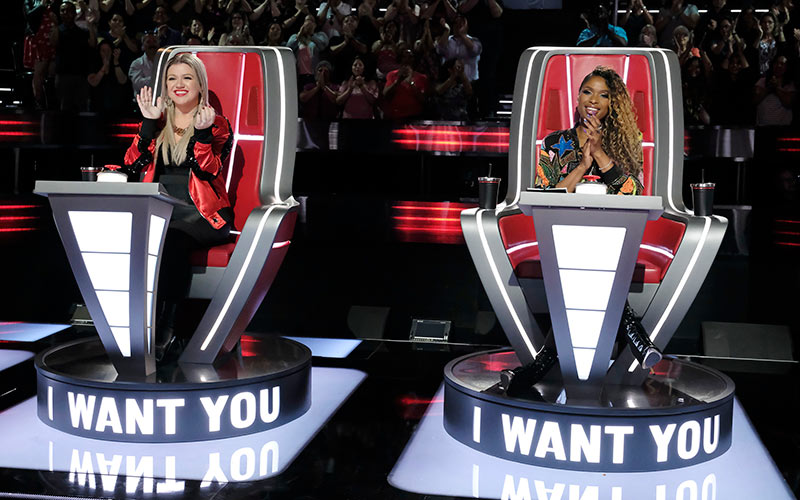 Kelly Clarkson, Jennifer Hudson, The Voice season 15