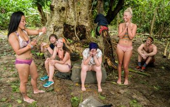 On Survivor, a cyclone brings supplies from Probst, and the first blindside