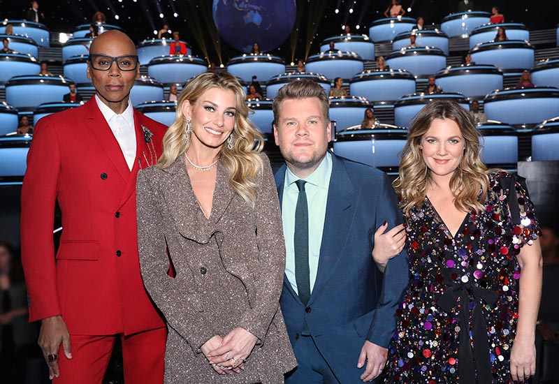 RuPaul Charles, Drew Barrymore, James Corden, Faith Hill, World's Best, CBS