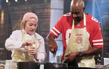 Addison, Jerry Rice, Masterchef Junior: Celebrity Showdown