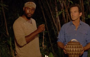 Davie Rickenbacker, Jeff Probst, Survivor David vs. Goliath episode 8 Tribal Council