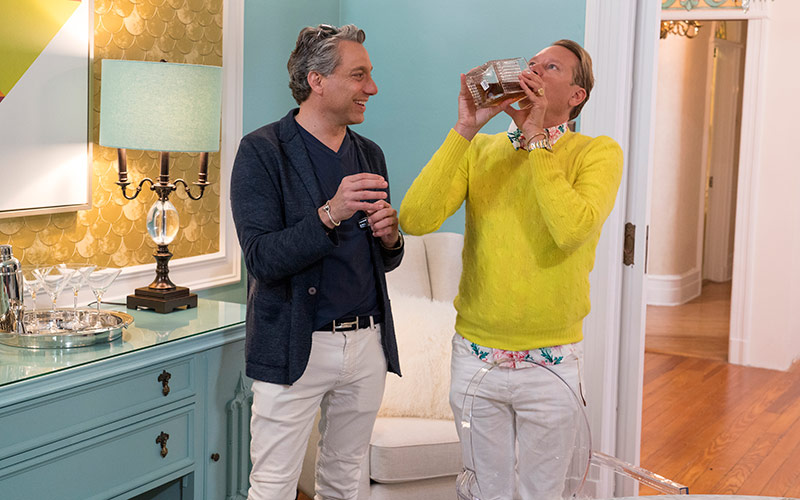 Get a Room with Carson and Thom, Thom Filicia, Carson Kressley