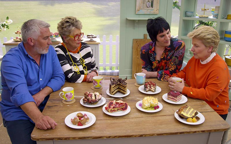 The Great British Baking Show collection 6 Netflix, The Great British Bake-Off season 9, desserts week