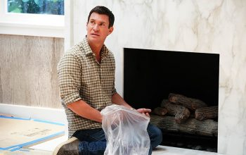 Jeff Lewis, Flipping Out season 11, fireplace