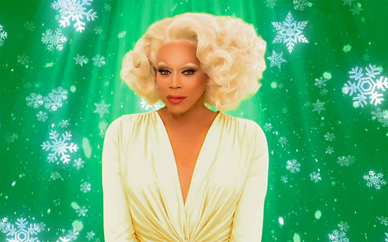 RuPaul's Green Screen Christmas
