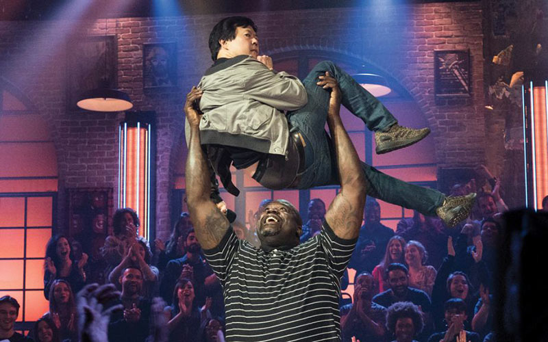Ken Jeong and Shaquille O'Neal, Drop the Mic