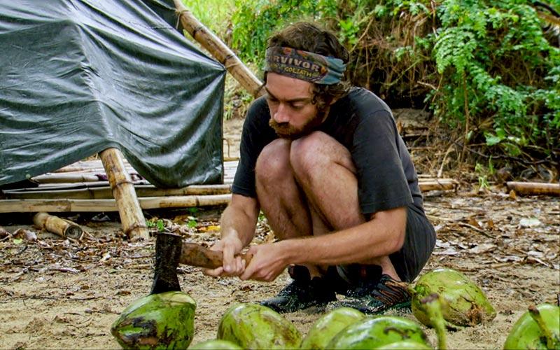 Christian Hubicki, Survivor David vs. Goliath episode 13