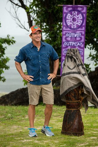 Jeff Probst, Survivor David vs. Goliath episode 1