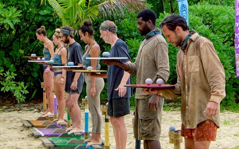 Survivor David vs. Goliath episode 13 immunity challenge