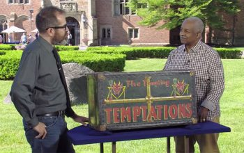 Antiques Roadshow season 23, Meadowbrook Hall, Gary Piattoni, Temptations trunk