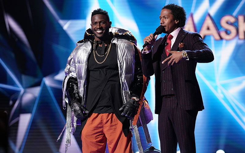 Antonio Brown, Nick Cannon, The Masked Singer