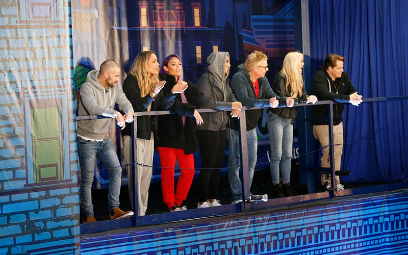 Joey Lawrence, Lolo Jones, Natalie Eva Marie, Tamar Braxton, Kato Kaelin, Dina Lohan, Anthony Scaramucci, Celebrity Big Brother 2 HOH competition