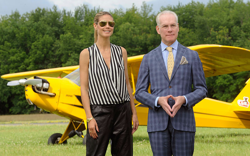 Heidi Klum, Tim Gunn, Project Runway season 12