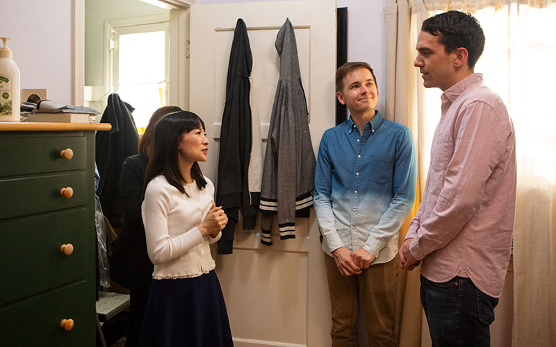Marie Kondo, Matt, Frank, Tidying Up with Marie Kondo