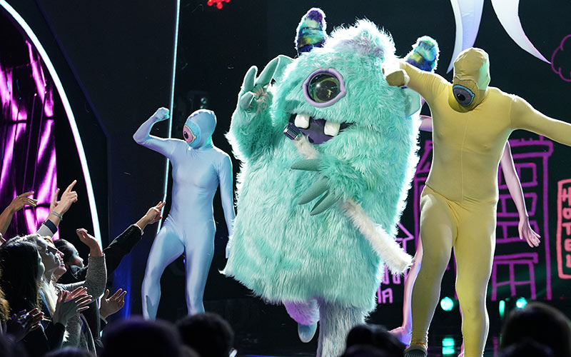 Monster, Masked Singer, Fox